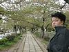 me in Japan @ Ginkaku ji