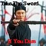 take the sword