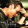 mythichistorian: Giles-Thinking