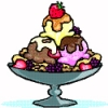 Elizabeth Culmer, only a *little* bit crazy...: ice cream sundae