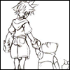 sora and pooh