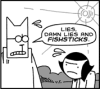 Q. Pheevr: Lies damn lies and fishsticks