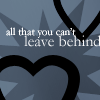 all you cant leave behind