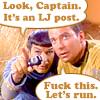 It's a post!
