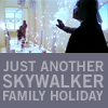 Sunny: SW Skywalker fam holiday