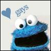 Fuzzy Mannard: Cookie Loves Gays