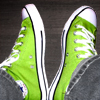 Mine - Green Hi-Tops