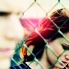 PB - sara and michael with fence