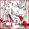 Flojiro: human's flesh