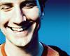 matt blue smile