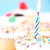 Entendre? Make mine a double.: birthday cupcake
