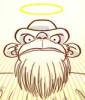 Noah: bearded monkey god