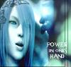 Power in ones hand