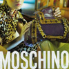 moschino purple bag