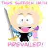 Kerry: thus suffolk hath prevailed!