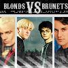 blonds Vs brunets