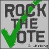 _belong: Rock the Vote - Slytherin