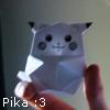 Origami Pika
