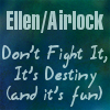 "BSG - Text || ""ellen/airlock don't fight"