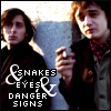 Snakes and Eyes and Danger Signs
