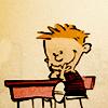 Alex: Calvin smiling