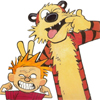 misc calvin and hobbes make faces