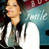 kaci: smile.