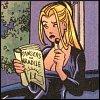 dinah reads comics