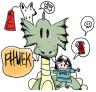 dragon plus doodle