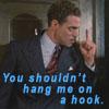 Flusterbunny: hang me on a hook