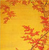 Japanese art - Maple leaves