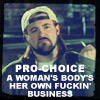 pro choice-silent bob- creator unknown