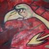 David Reagan: graffiti_ostrich