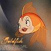 happy: goldish! // pinnochio