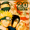 // 20 things about Naruto characters //