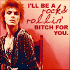 ~any001, bowie-i'll be a rock n rollin bitch for