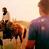 Smallville - Clark Lana Horse