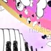 pink rainbow music