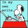 CJ Marsicano (CJマルシカノ): Snoopy 'In my own write'