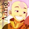 Cheezy smiling Aang