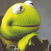 kermit contemplating