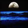 Sinking moon / icon_goddess