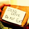 AD | Inanimate Object | Dead dove