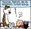 Calvin & Hobbes: Trusting