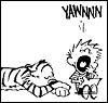 Calvin & Hobbes: YAWN