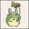 Totoro&flower