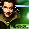 Heather: smelly evil doer.