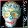 Mattie: bpal sugar skull