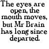 Mr. Brain [Blackadder]