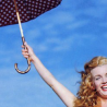 Marilyn- Norma Jean umbrella